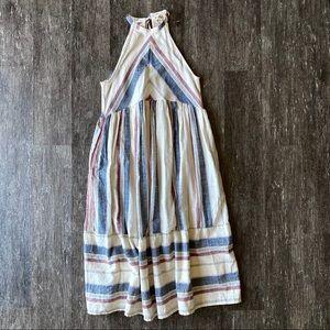 NWOT Striped midi dress